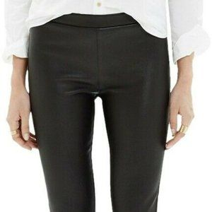 Madewell Leather pants (100% leather, pull-on)